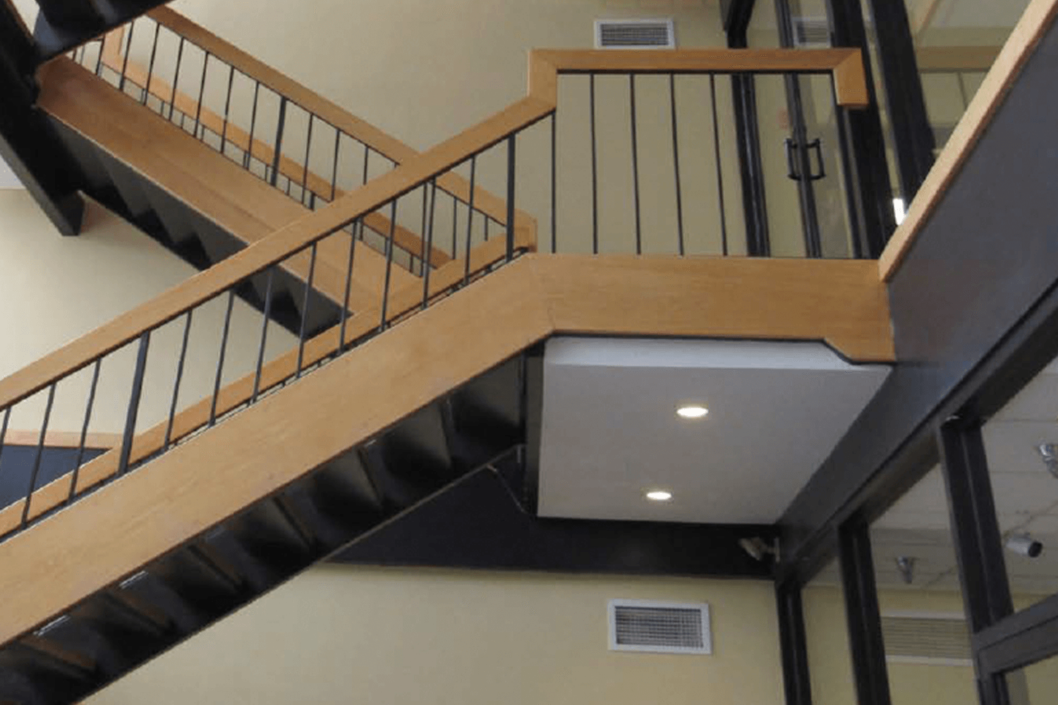 stairway with modern aesthetic